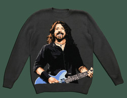 Dave Grohl handmade sweater