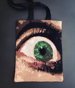 Texas Chain Saw Massacre knit bag