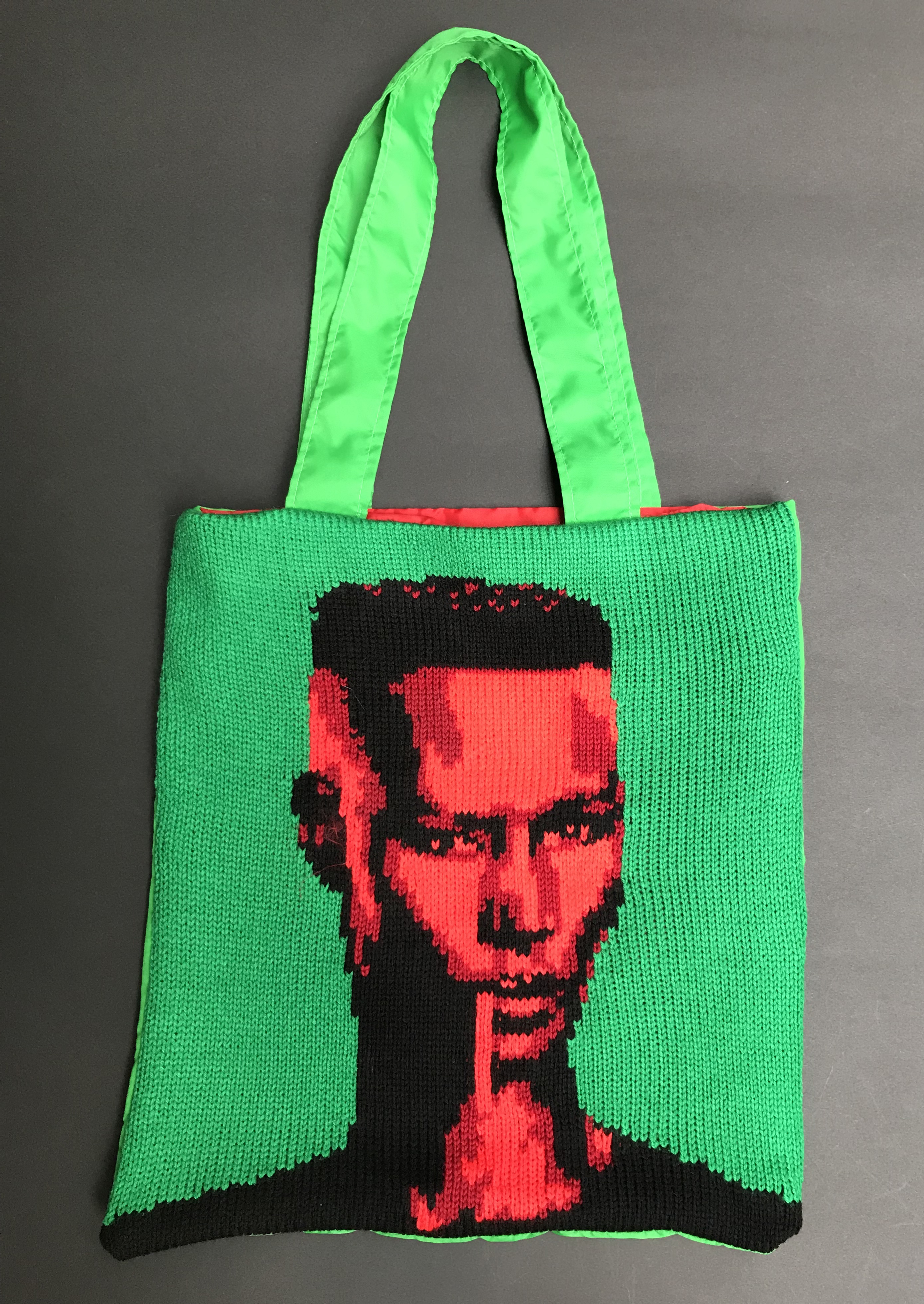 Grace Jones knit bag