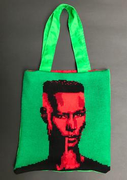 Grace Jones knit bag