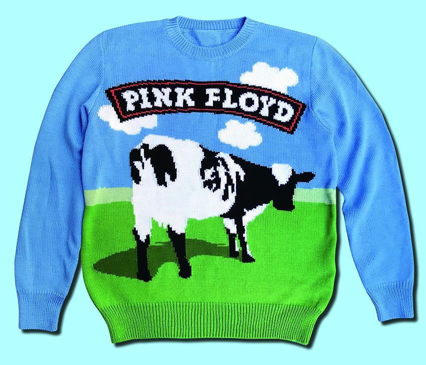 Pink Floyd handmade sweater