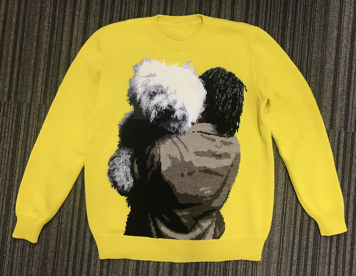 Tyrone handmade sweater