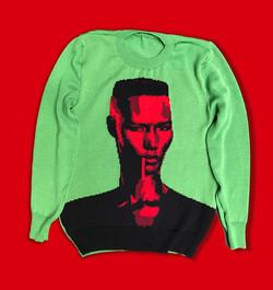 Grace Jones sweater