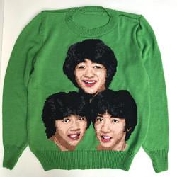 たのきん全力投球セーター