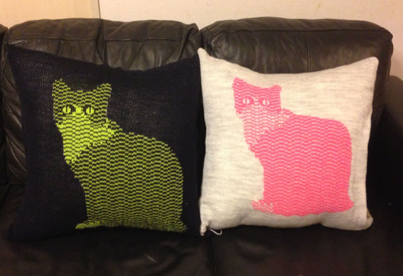 Cat Cushion