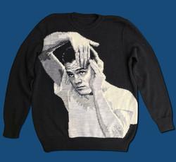 Chet Baker handmade sweater