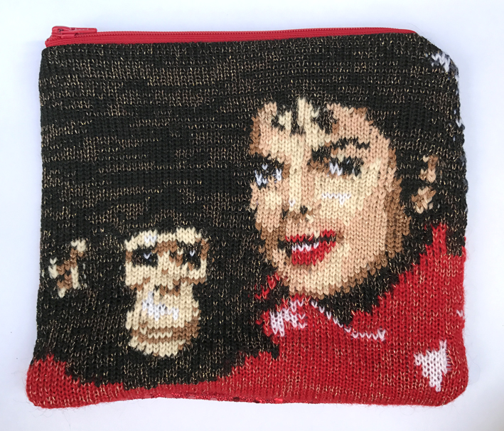 Michael & Bubbles pouch