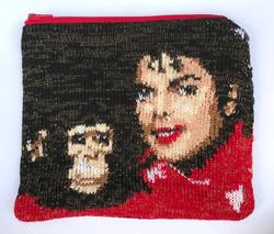 Michael & Bubbles pouch