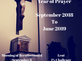 Year of Prayer Recap