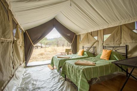 Kati Kati Tented Camp - Inside Tent