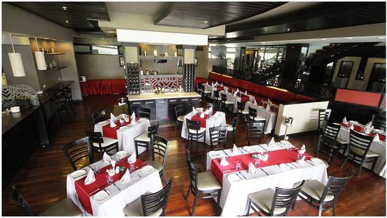 Mount Meru Hotel Dining Area