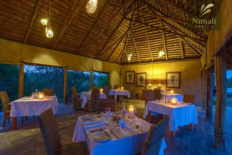 Nimali Tarangire Dining Area