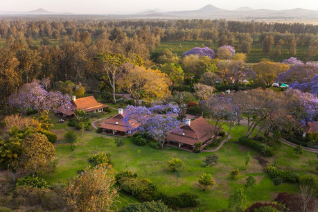 Legendary Lodge Aerial View