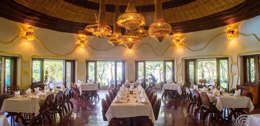 Lake Manyara Serena Safari Lodge Dining Area