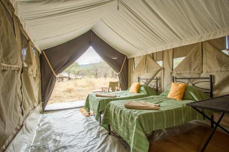 Mara Kati Kati Tented Camp Inside Tent