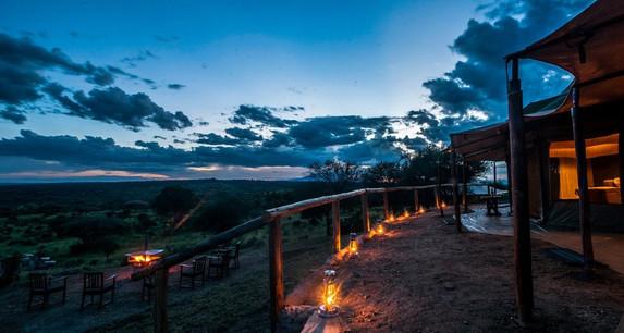 Acacia Tarangire Luxury Camp - Night View