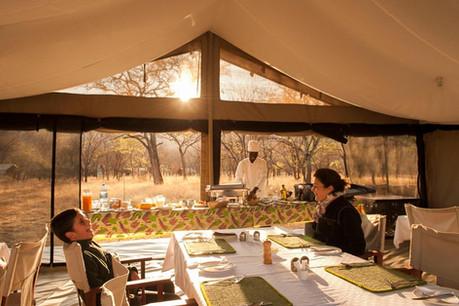 Mara Kati Kati Tented Camp Dining