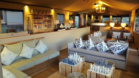 Lemala Kuria Hills Lodge Bar