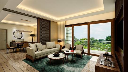 Gran Melia Arusha Suite Room