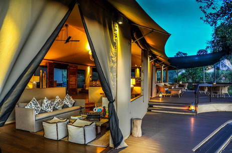 Lemala Kuria Hills Lodge Lounge