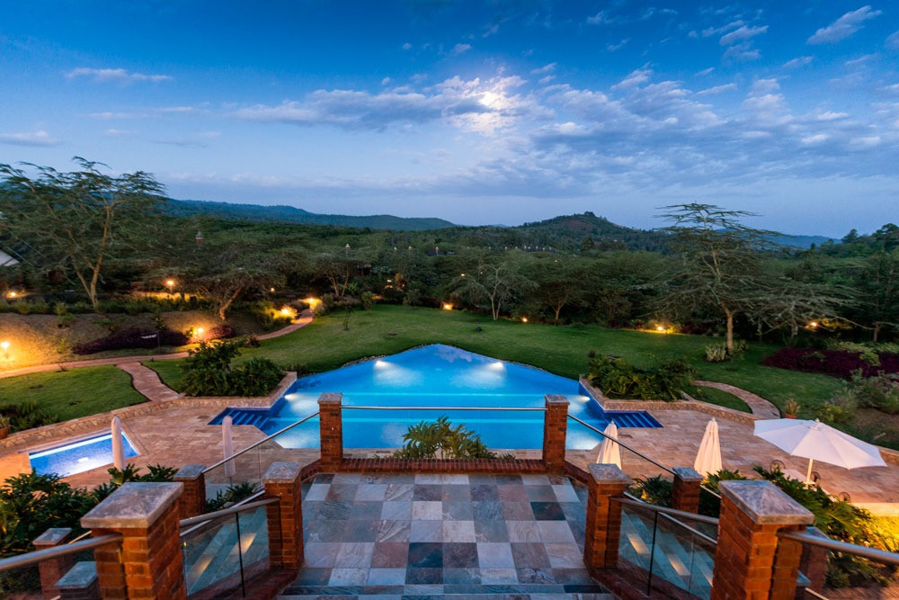 The Rretreat at Ngorongoro Swimming Pool