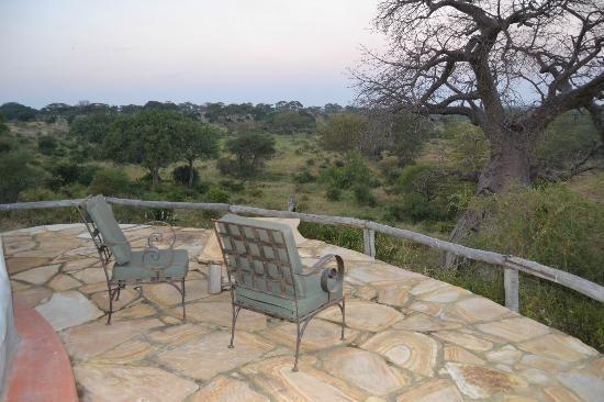 Tarangire Osupuko Lodge View from Balcony