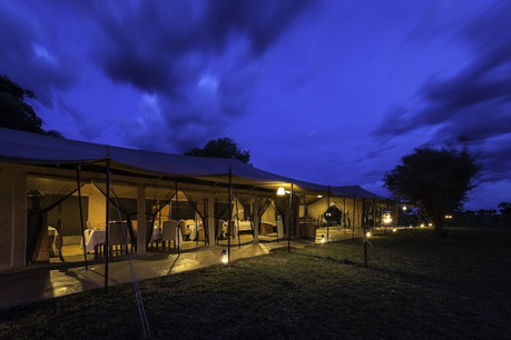Serengeti River Camp Facade