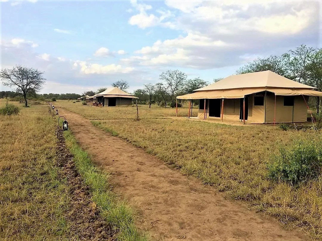 Into Wild Africa Camp Outisde Tent View