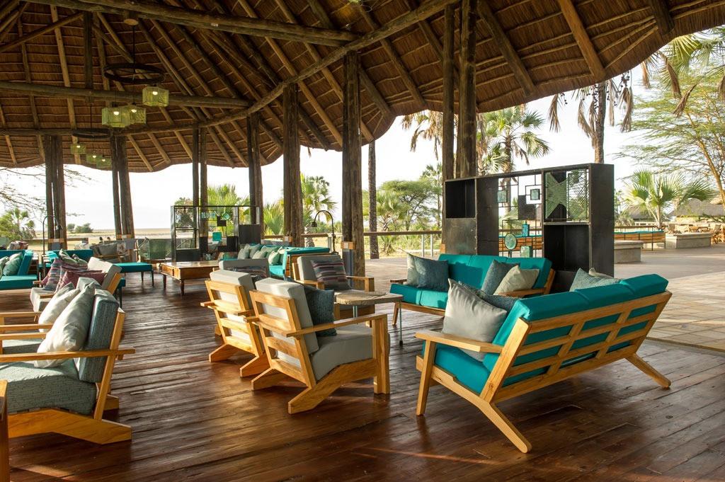 Maramboi Tented Lodge Lounge