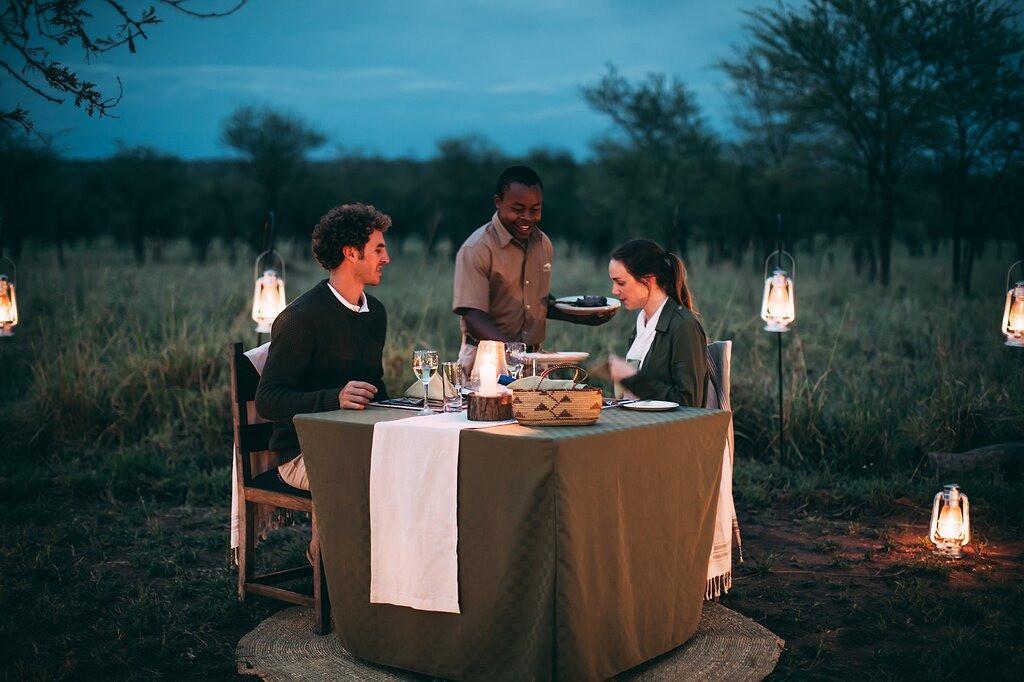 Ngorongoro Tortilis Camp Dining