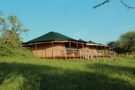 Kilima Valley Camp Outside Tent