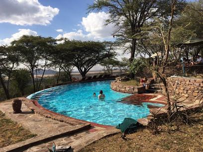 Serengeti Serena Safari Lodge Swimming Pool
