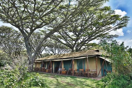 Lemala Ngorongoro Outisde Tent View