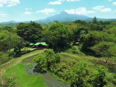 Mount Meru Game Lodge Aerial View