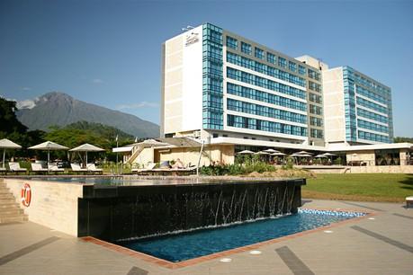Mount Meru Hotel Outside View