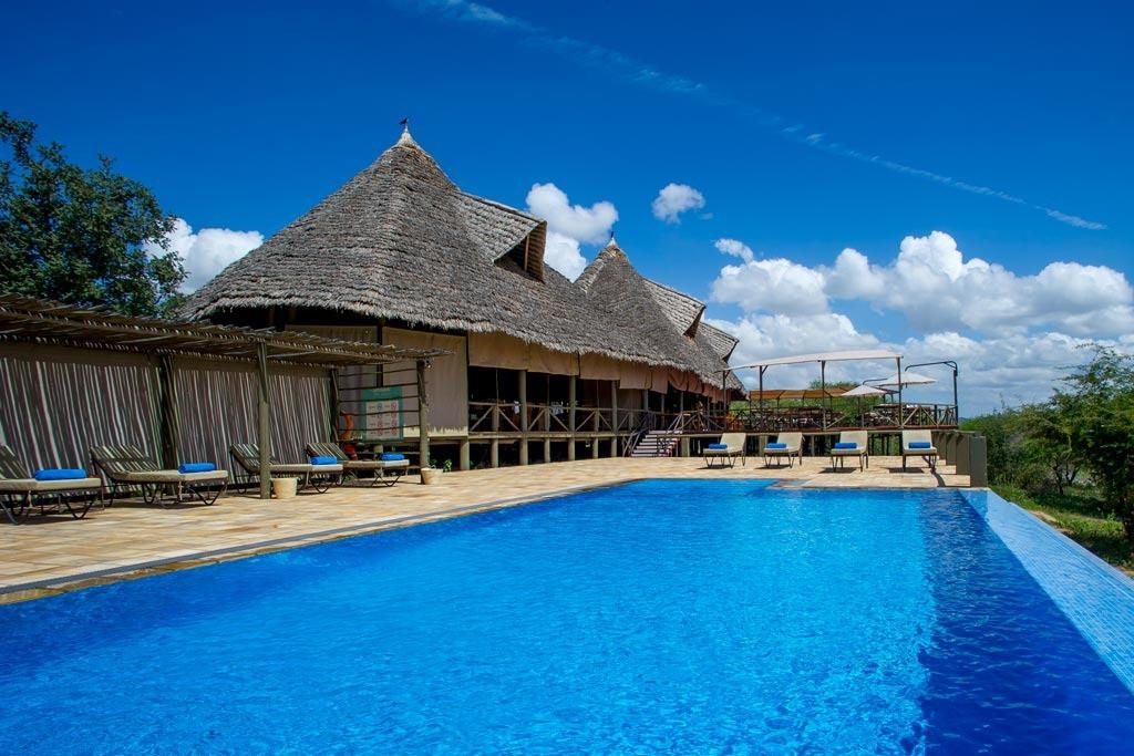 Burunge Tented Lodge Swimming Pool