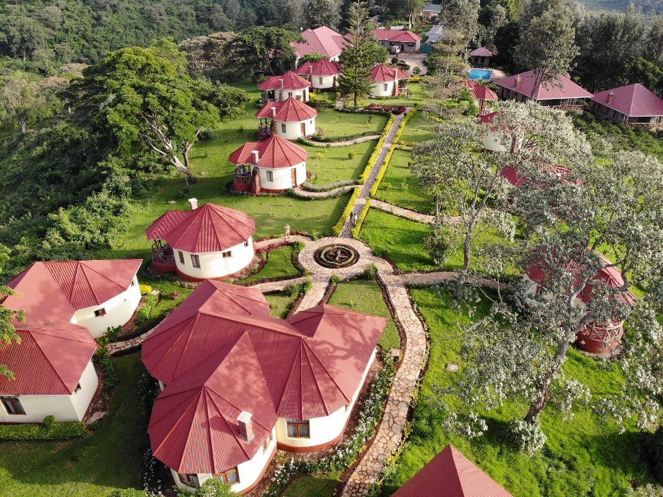 Hhando Coffee Lodge Aerial View