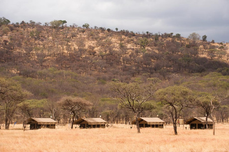 Mara Kati Kati Tented Camp Outside View