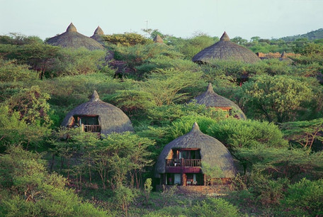 Serengeti Serena Safari Lodge Drone View