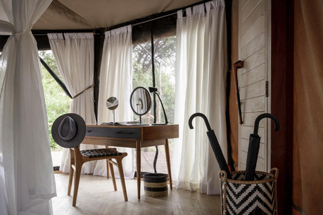 Sanctuary Swala Tarangire Camp - Inside Tent