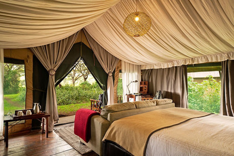 Lemala Ngorongoro Tent View