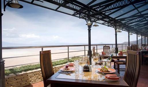Ngorongoro Wildlife Lodge Dining with view