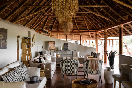 Sanctuary Swala Tarangire Camp - Lounge