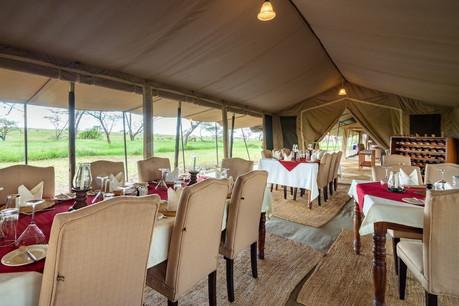 Serengeti Sametu Camp Dining