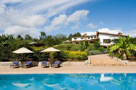 Tloma Lodge Swimming Pool