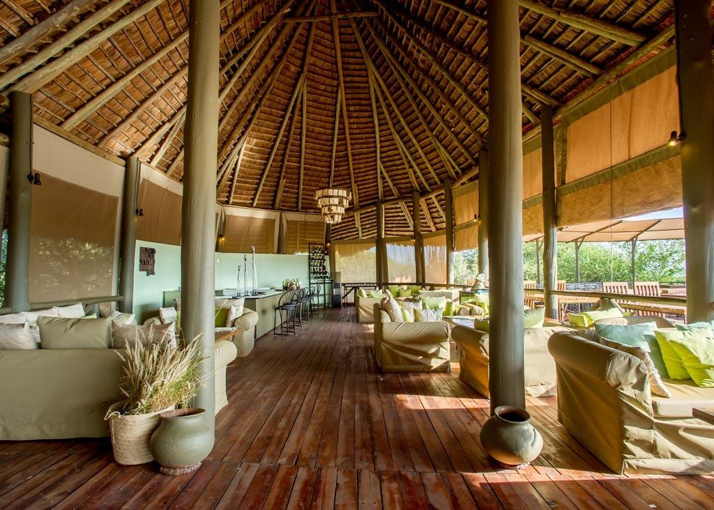 Burunge Tented Lodge Lounge