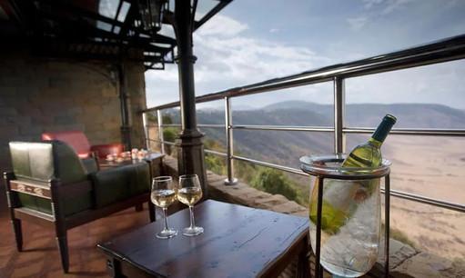 Ngorongoro Wildlife Lodge Lounge