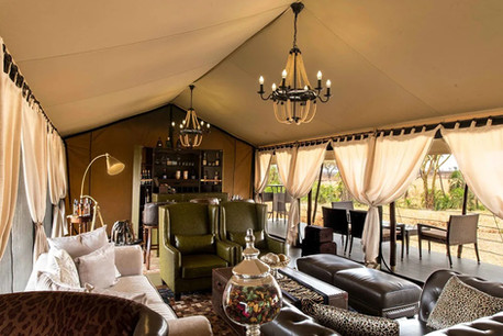 Ole Serai Luxury Camp - Turner Springs - Lounge and Bar