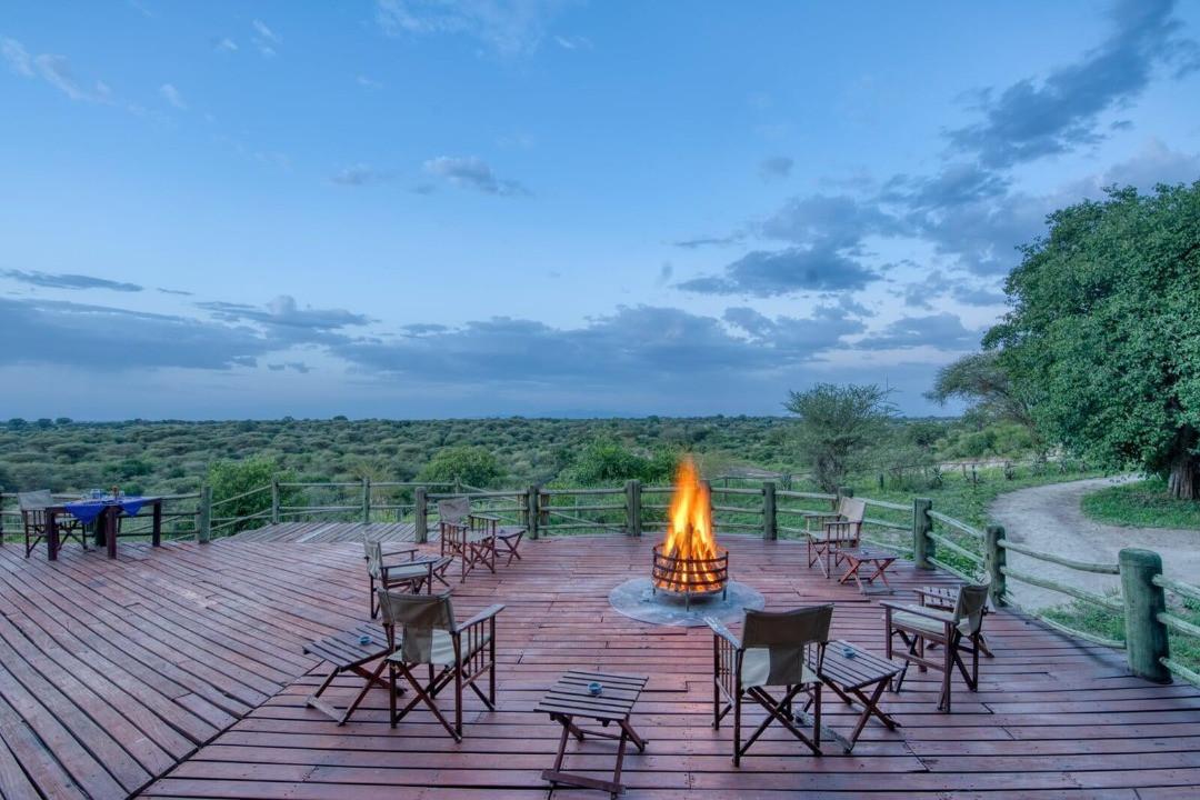 Mbali Mbali Tarangire River Camp Fireplace