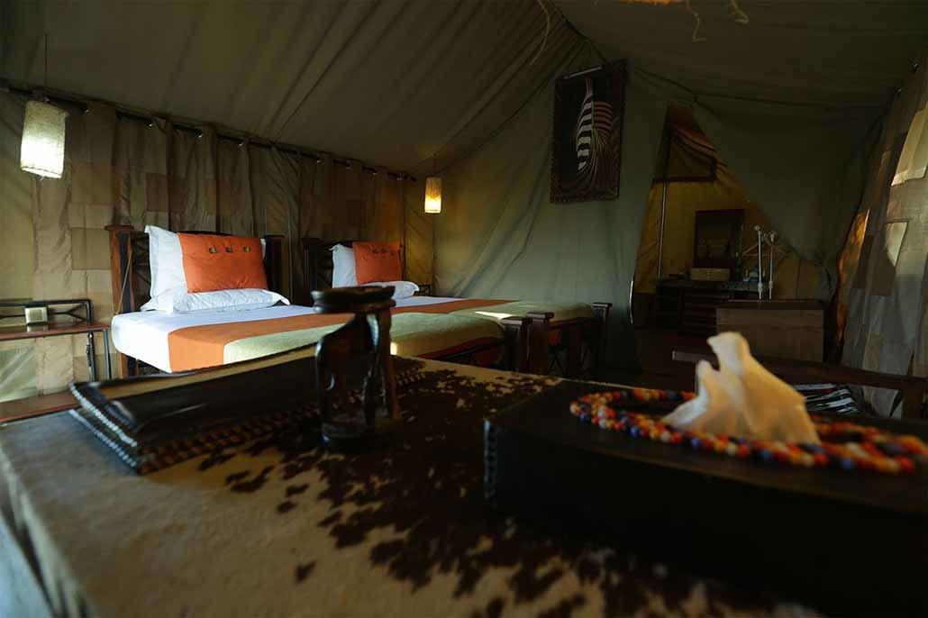 Serengeti Osupuko Camp Tent View